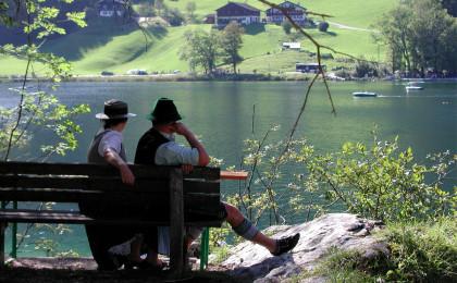 Geborgenheit und Ruhe am Hintersee