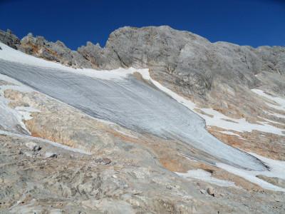 Hochkönig-Gletscher-mit-Eis-Vorhang