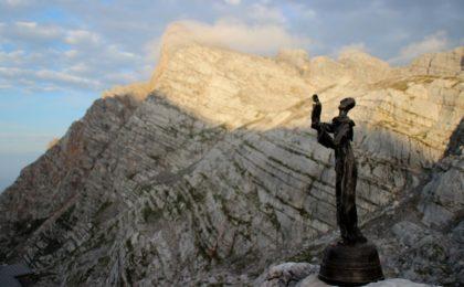 Denkmal der Almer Wallfahrt im Steinernen Meer