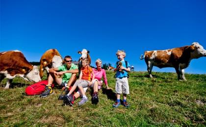 Almwanderung mit Kindern