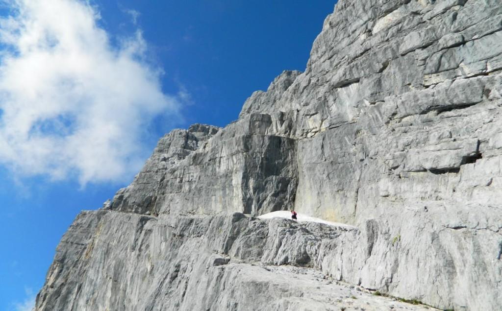 Die Wiederroute durch die kleine Watzmann Ostwand