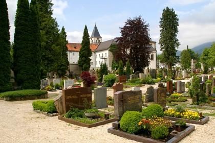 Der Reichenhaller Stadtfriedhof St. Zeno