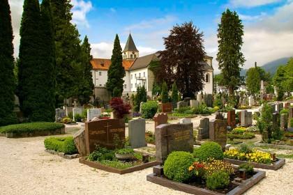 Der Bad Reichenhaller Stadtfriedhof St. Zeno