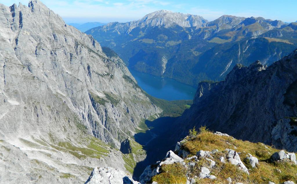 Blick zum Königssee von Hirschwieskopf