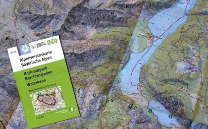 Alpenvereinskarte BY 21 – Nationalpark Berchtesgaden | Watzmann