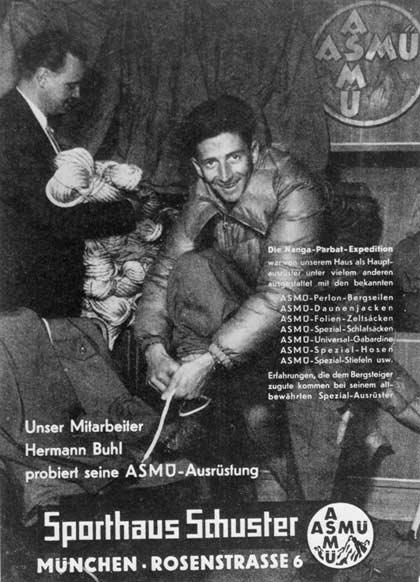 Hermann Buhl für Sport Schuster