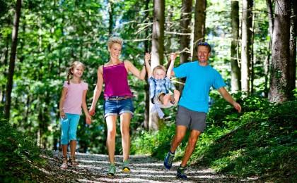 Wanderwege für die ganze Familie