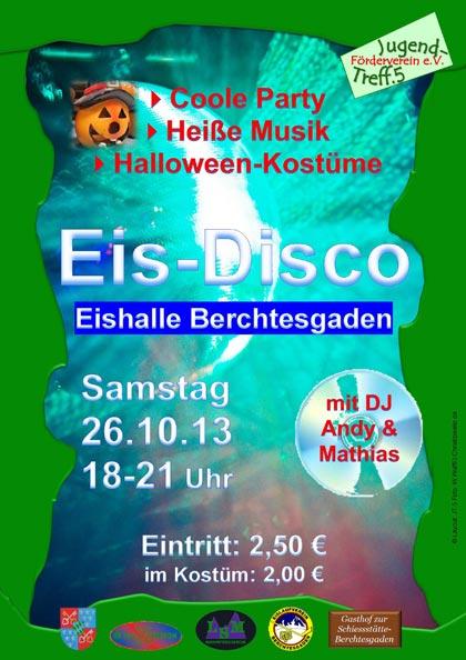 Eisdisco in der Eishalle Berchtesgaden