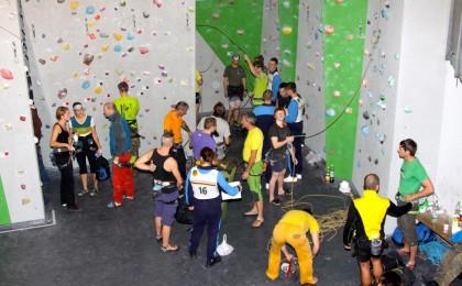 24-Stunden-Spendenklettern im Bergsteigerhaus Ganz