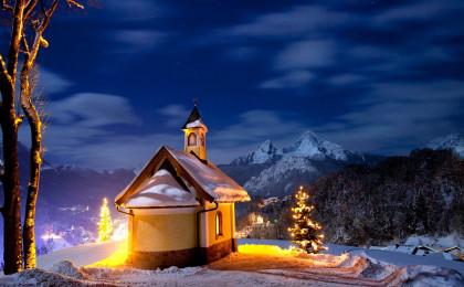 Lichterglanz im Berchtesgadener Land