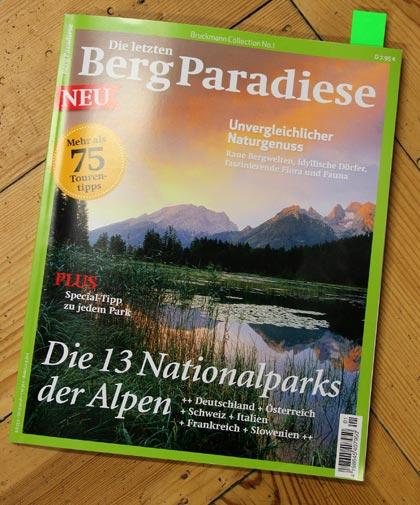 Die letzten Bergparadiese | Bruckmann Verlag