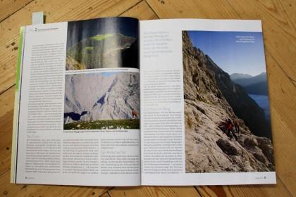 Die letzten Bergparadiese in Heftform