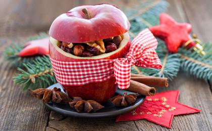 Bratapfel - eine weihnachtliche Süßspeise