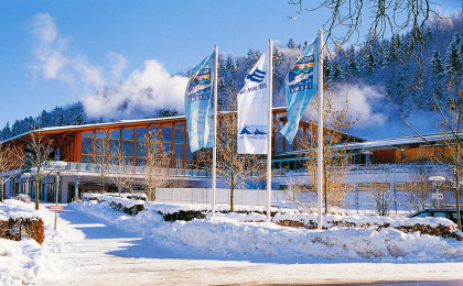 Ideal im Winter: Watzmann Therme