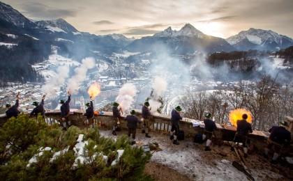Weihnachtsschützen Berchtesgaden am Lockstein