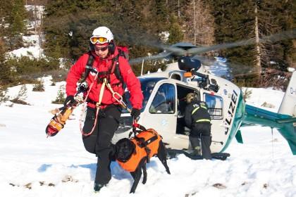 Bergwacht Hundeführer ©BRK BGL