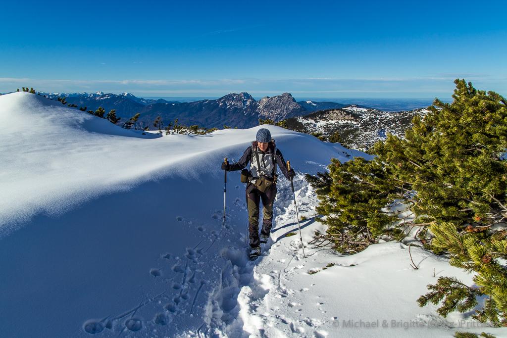 Winterwanderung im Berchtesgadener Land