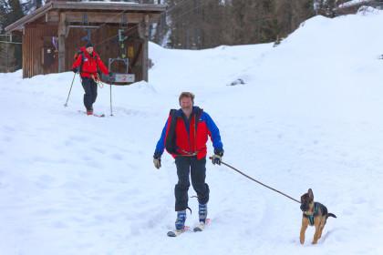 Lawinenhund der Bergwacht ©BRK BGL