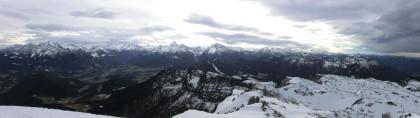 Gipfelpanorama am Untersberg