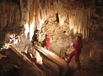 Andreas Wolf:  Lange Nacht der Höhlen (Oman)