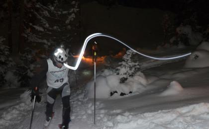 Skitour bei Nacht für einen guten Zweck