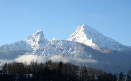 Der Watzmann, vom Haus der Berge aus gesehen