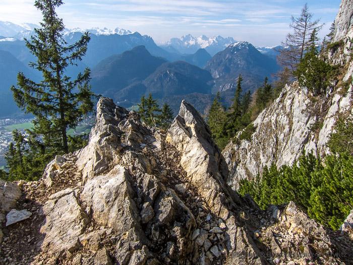 Aufstieg über die Steinernen Jäger