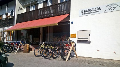 S`Radl Ladl: Bikeshop