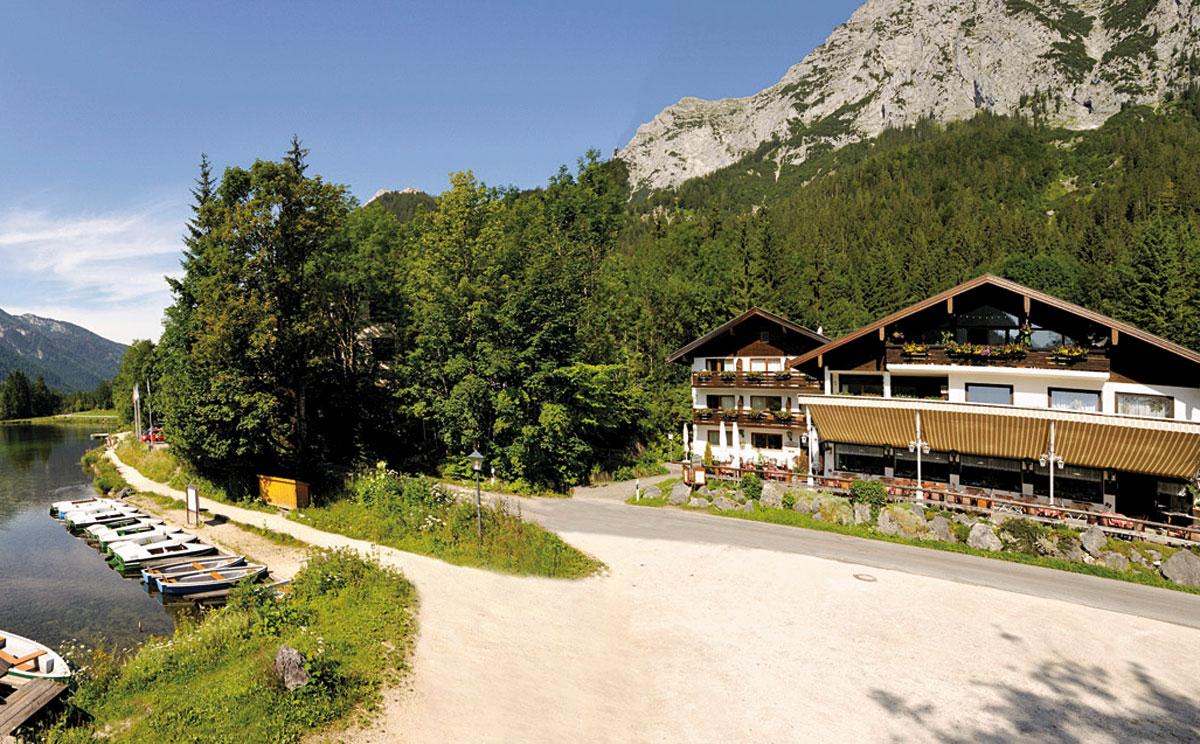 Ausgezeichnete Bayerische Küche im Gasthaus Seeklause am Hintersee