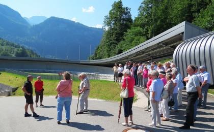Führungen an der Kunsteisbahn Königssee