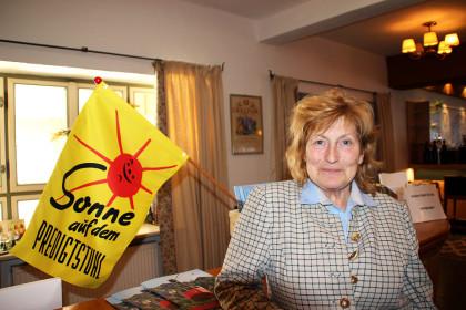 Marga Posch strahlt über den gelungenen Auftakt