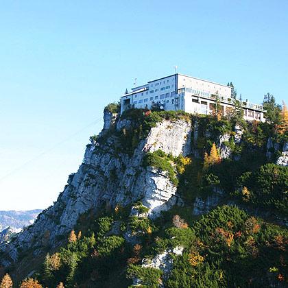 Bergstation und Berghotel am Predigtstuhl