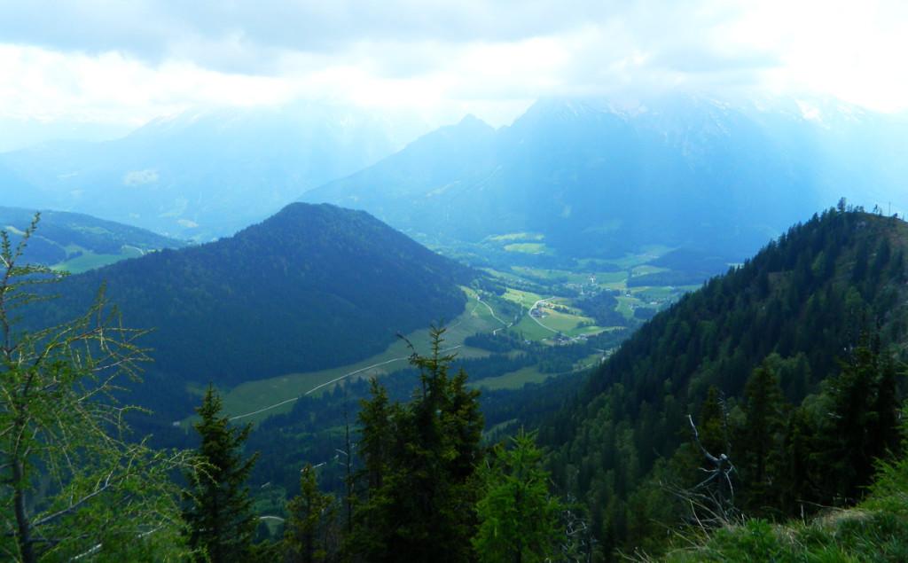 Ausblick vom Karspitz