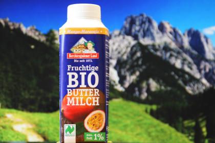 Bio-Buttermilch Mango-Maracuja