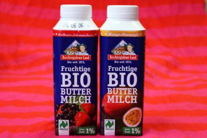 Buttermilch to go in zwei Geschmacksrichtungen
