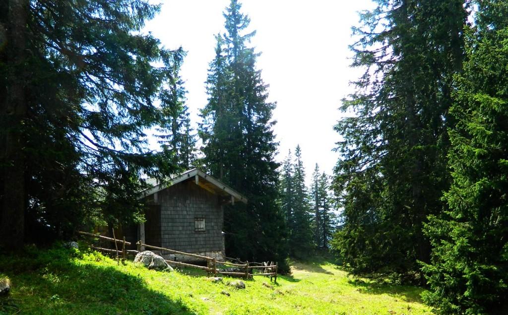 Diensthütte auf der Törlschneid