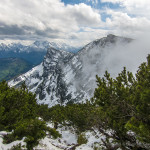 Letzter (?) Schnee im Lattengebirge