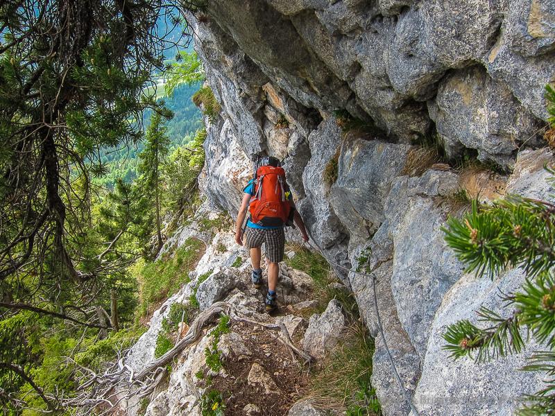 Klettersteig Leiter : Klettersteig kurz vor der leiter berchtesgadener land blog