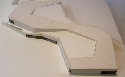 Architekturmodell Porsche Traumwerk