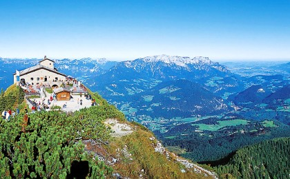 Panorama Kehlstein in Richtung Unetrsberg