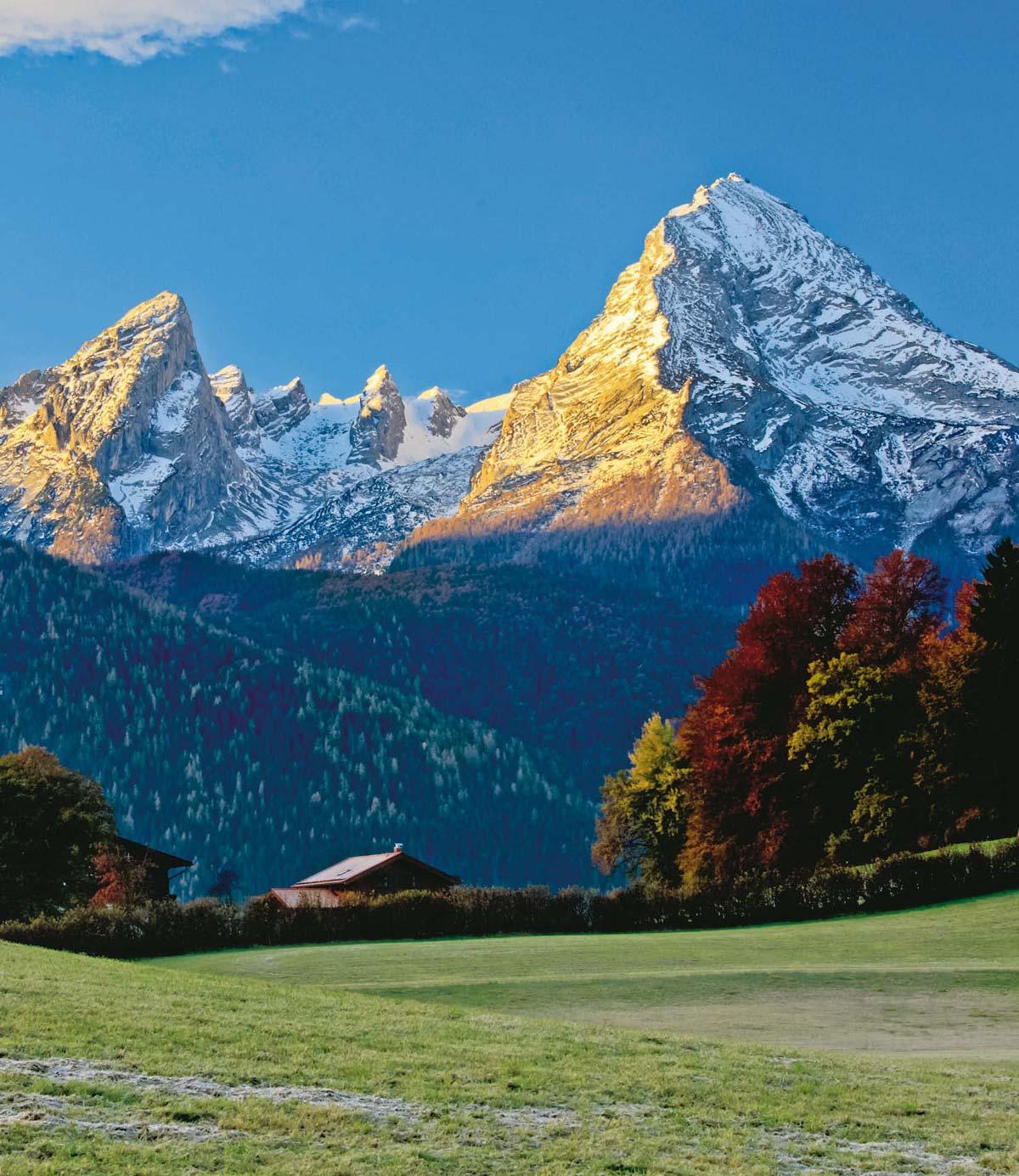 Berge Der Welt Von Az