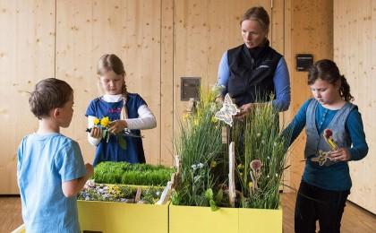 Wiesenkiste im Bildungszentrum © Josefine Unterhauser