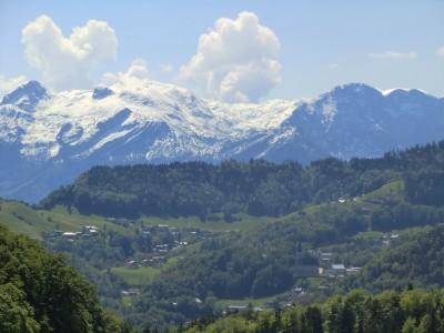 Blick nach Dürrnberg