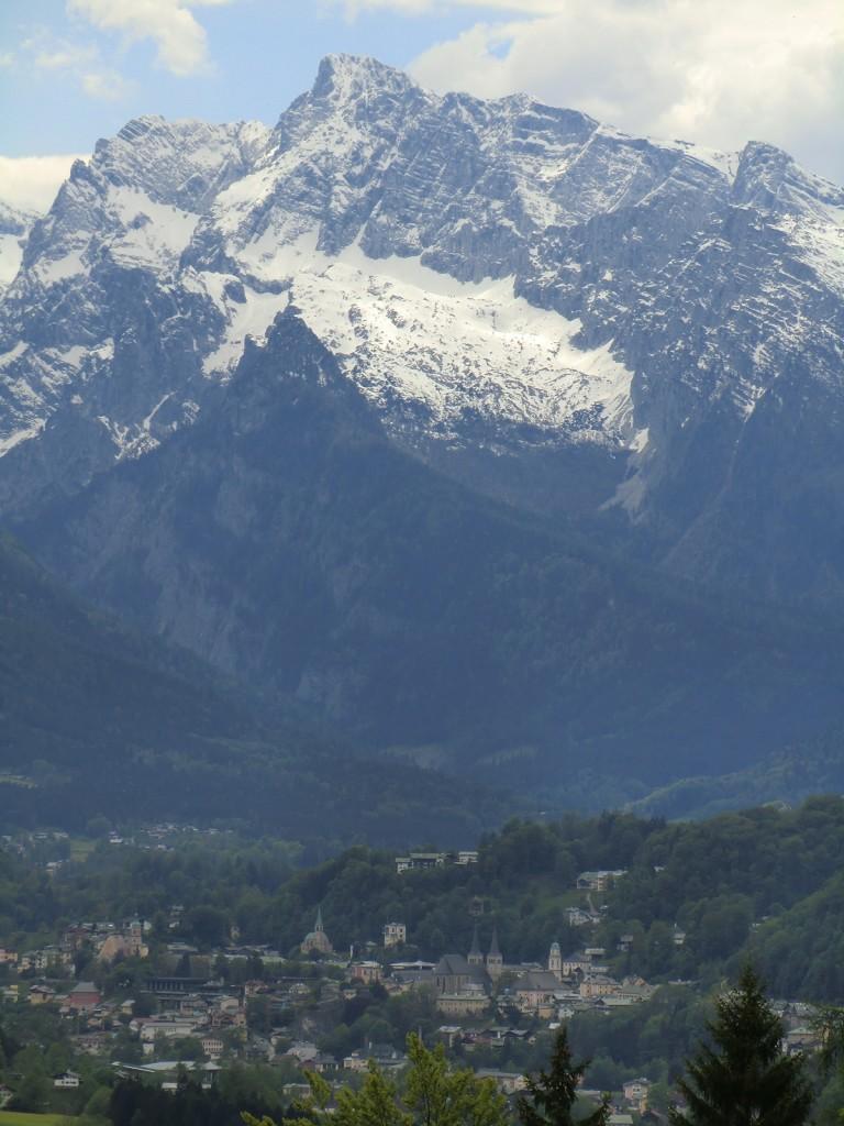 Blick nach Berchtesgaden