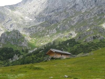 Jagdhütte bei der Oberjochalm