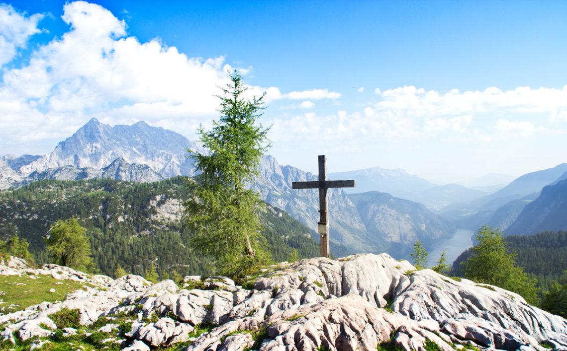 Feldkogel Gipfelkreuz
