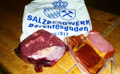 Reichnis: Je ein Kilo Rindfleisch und geselchtes Schweinefleisch
