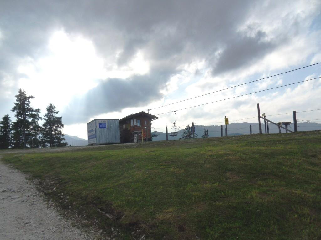 Bergstation der Hochschwarzeck Bergbahn