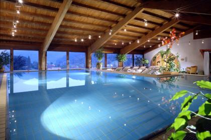 Schwimmbad im Hotel Rehlegg