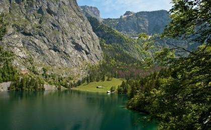 Fischunkelalm am Obersee im Nationalpark